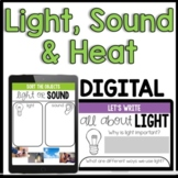 Types of Energy: Light, Sound and Heat [Distance Learning