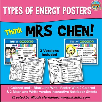 Types of Energy MRS CHEN Posters