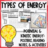 Types of Energy Activity Pack with Posters