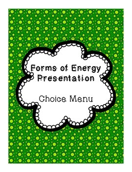 Types of Energy Presentation Project