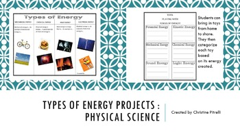 Types of Energy Projects