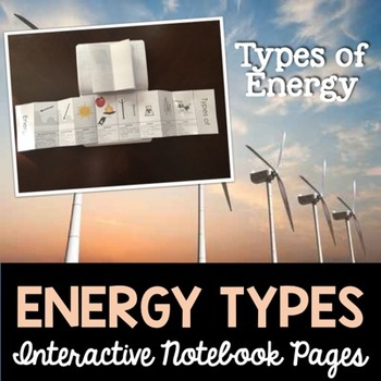 Energy Types Interactive Notebook Pages
