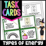 Types of Energy Science Task Cards