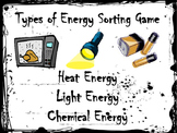 Types of Energy Sort