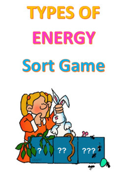 Types of Energy Sort Game