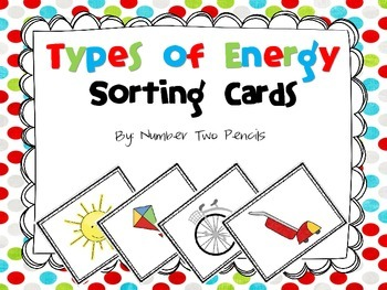 Types of Energy, Sorting Cards and Cooperative Games