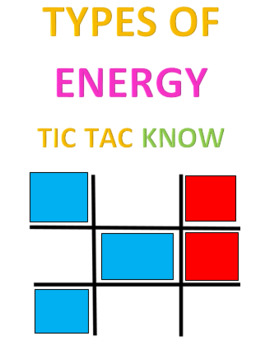 Types of Energy Tic Tac Know