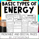 Types of Energy with Digital Interactive Slides