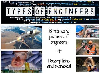 Types of Engineers STEM