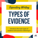 Types of Evidence in Expository Writing