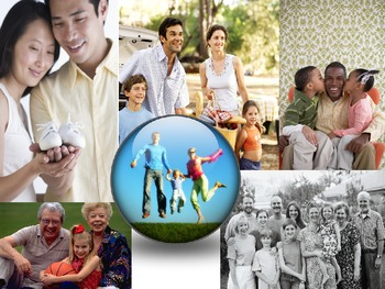 Types of Families Lesson Power Point for Health