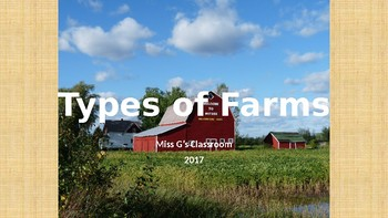 Types of Farms Book/PowerPoint