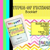 Types of Fiction Booklet