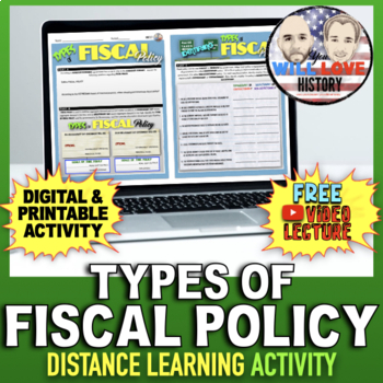 Types of Fiscal Policy Activity