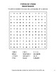 Types of Food - Word Search, Word Scramble,  Secret Code,  Crack the Code