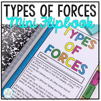 Types of Forces Mini Flip Book