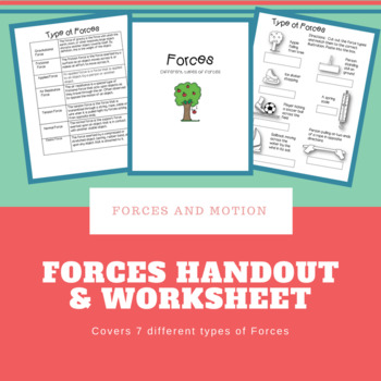 Types of Forces Packet