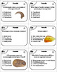 Types of Fossils Task Cards (Geology Unit)