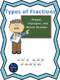 "Types of Fractions ""Cut and Paste"""