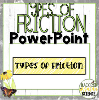 Types of Friction Doodle Notes-Power Point