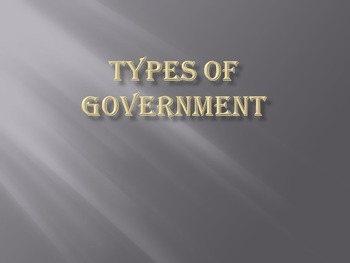 Types of Government