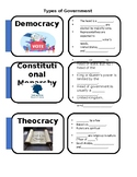 Types of Government: Foldable
