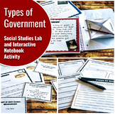 Types of Government: Interactive Notebook Activity and History Lab