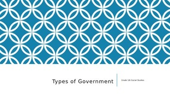 Types of Government PPT