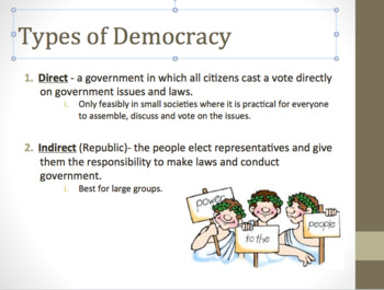 Types of Government PPT and Guided Notes
