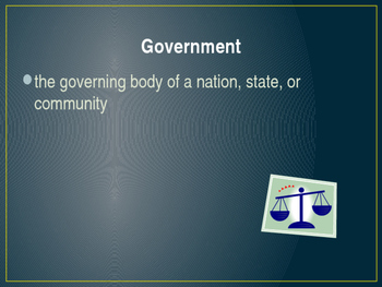 Types of Government Power Point