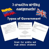 Types of Government Writing Assignments