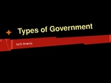 Types of Governments on the North America Continent