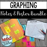 Types of Graphs and Variables Notes and Posters Bundle