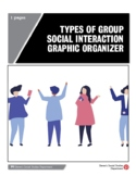 Types of Group Social Interaction Graphic Organizer