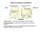Types of Growth in Populations