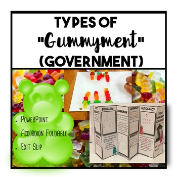 Types of Gummyment (Government) Foldable and Exit slip