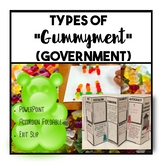 Types of Gummyment (Government) Lesson and Activity