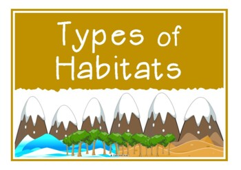 Types of Habitats