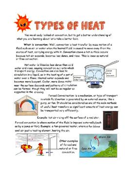 Types of Heat