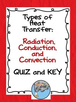 Types of Heat Transfer Quiz