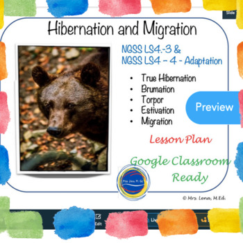 Types of Hibernation - Science Reading Comprehension Text with Questions