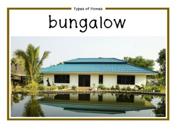 Types of Homes Photo Set