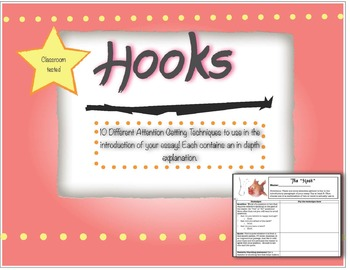 Types of Hooks for Writing