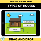 Types of Houses Boom Cards for Distance Learning