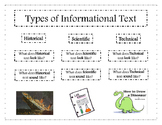 Informational Text Flipbook
