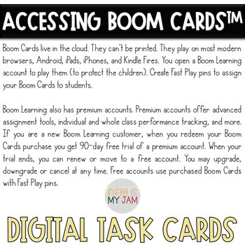 Types of Interactions Vocab NGSS:PS2.B, Digital BOOM Cards