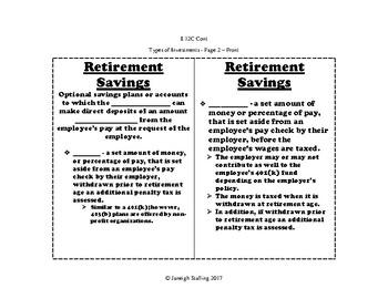 Types of Investments INB TEKS 8.12C