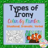 Types of Irony Color by Number