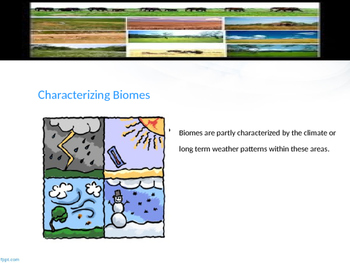 Types of Land Biomes Powerpoint