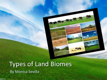 Types of Land Biomes eBook